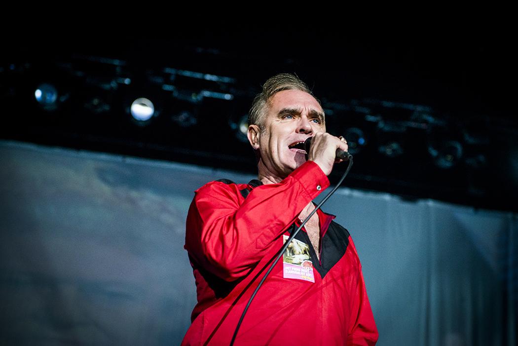 Morrissey.  Foto: Petter Hellman.
