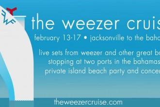 Weezer presenterar ännu en Weezer-kryssning