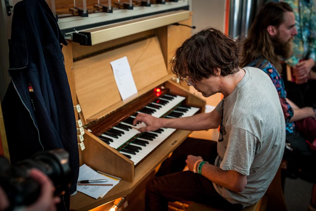 Samt med Erik Malmberg (som uppträtt på de två tidigare upplagorna av festivalen) på orgel, en riktigt mäktig musikalisk upplevelse.