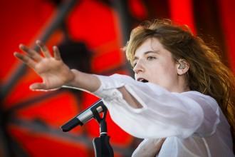 150702, Roskilde. Florence and the Machine spelar på Orange under Roskildefestivalen. Foto: Nora Lorek / Rockfoto