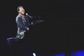 150222 Lionel Richie spelar på Globen Foto: Annika Berglund/Rockfoto