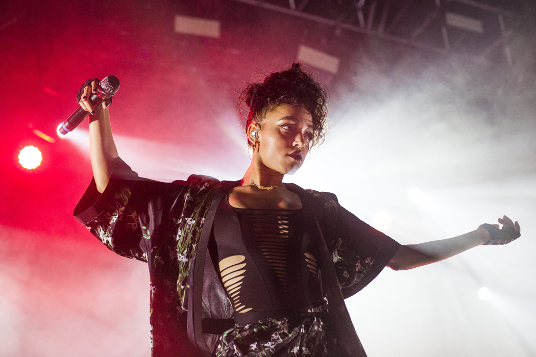 FKA Twigs på Way Out West, Göteborg, 150813. Foto: Pao Duell.