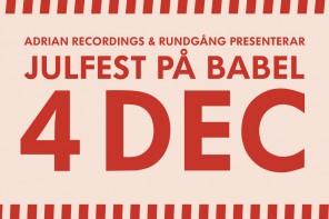 Rundgång och Adrian Recordnings firar in julen (+ tävling)
