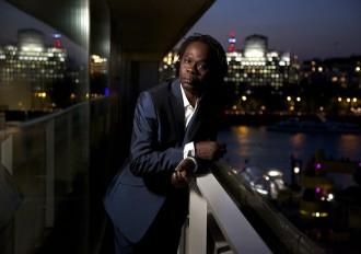 The Senegalese musician Baaba Maal, London, 2015