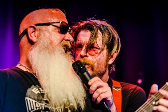 201560213 Jesse Hughes of Eagles of Death Metal plays at Debaser Medis in Stockholm / Photo: Viktor Wallström Rockfoto