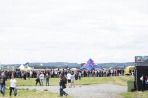 20160630 Kö till topup-stationerna Bråvalla. Foto Björn Bergenheim / rockfoto