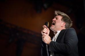 160702, Roskilde. LCD Soundsystem spelar på Orange stage på Roskildefestivalen. Foto: Nora Lorek/Rockfoto