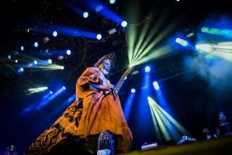 160702, Roskilde. Tiken Jah Fakoly spelar på Arena på Roskildefestivalen. Foto: Nora Lorek/Rockfoto