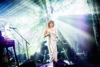 Amanda Bergman spelar på Skankaloss i Gagnef, Amfi-scenen. 2016-07-07. Foto: Elin Bryngelson/Rockfoto