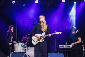 Pale Honey spelar på Peace & Love festivalen, Borlänge  2016-07-09