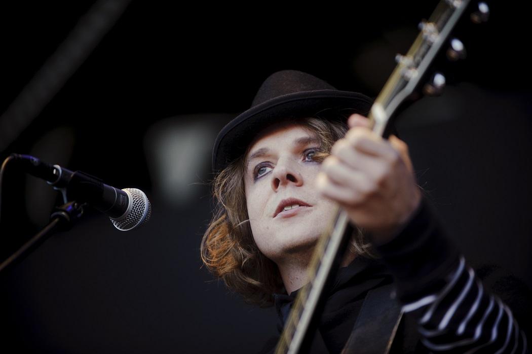 2011 fick festivalen besök av självaste Henrik Berggren som gjorde en solokonsert. Foto: Olle Kirchmeier