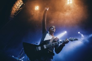 Tiamat spelar på Trädgårn under Gothenburg Sound Festival i Göteborg 2014-01-04. Foto: Patrik Boyton Rockfoto