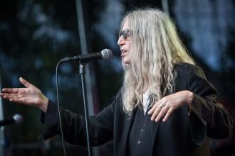 Patti Smith spelar på Sthlm music & arts. 2016-07-30. Foto: Elin Bryngelson/Rockfoto