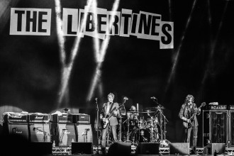The Libertines spelar på Way Out West , WoW , Göteborg 2016-08-12