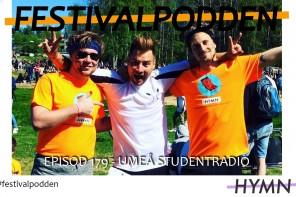 Festivalpodden: Episod 179 – Umeå Studentradio