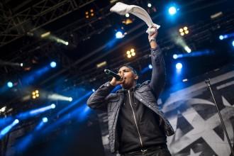 Abidaz spelar på Siestafestivalen, Göteborg, 140712