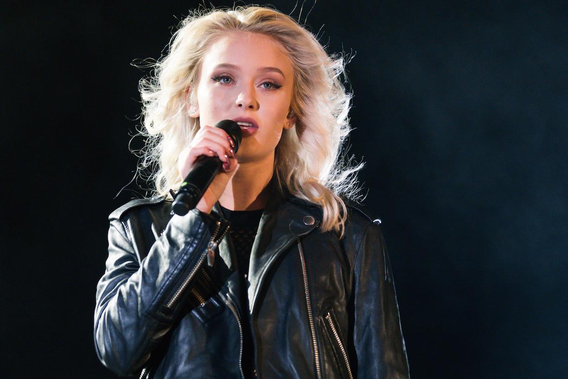 Zara Larsson spelar på Stora Scen , Liseberg , Göteborg 2016-09-17