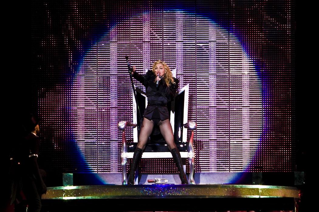 Madonna. Foto: Göran Tallberg / Rockfoto