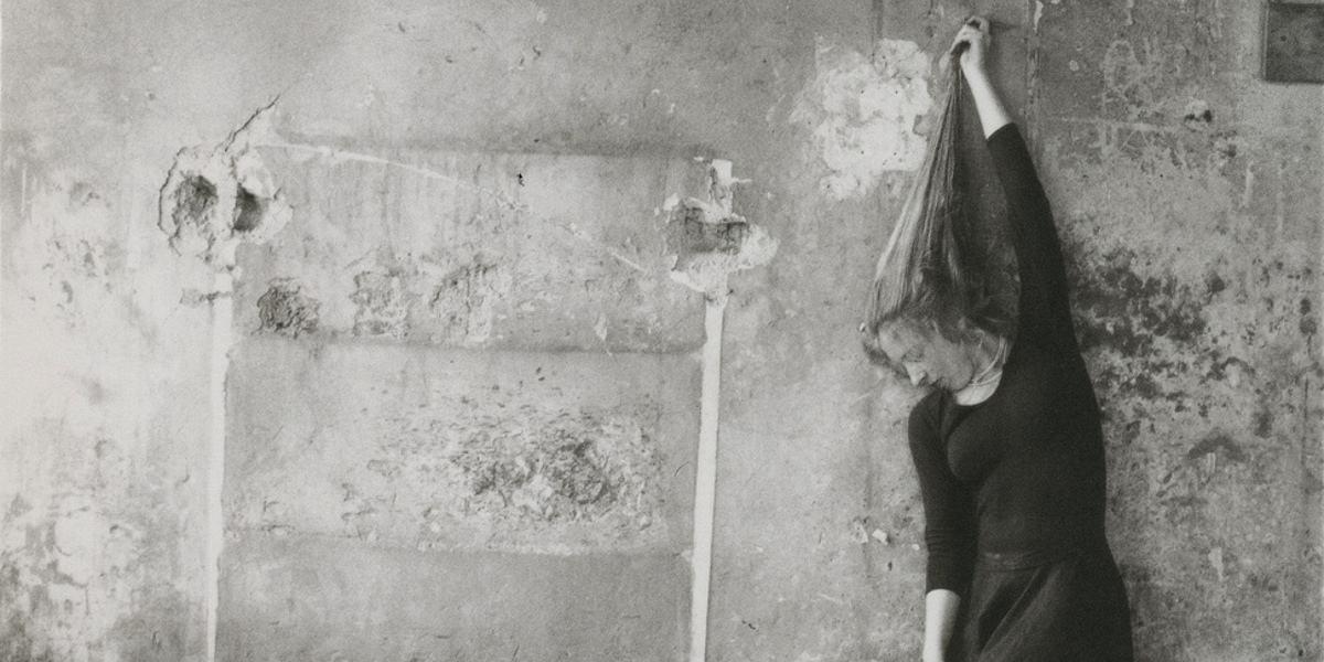 Foto: Francesca Woodman, självporträtt 1978