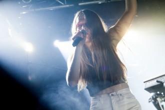 Maggie Rogers - Debaser Strand, Stockholm. Foto: Alexander Tillheden/Rockfoto.