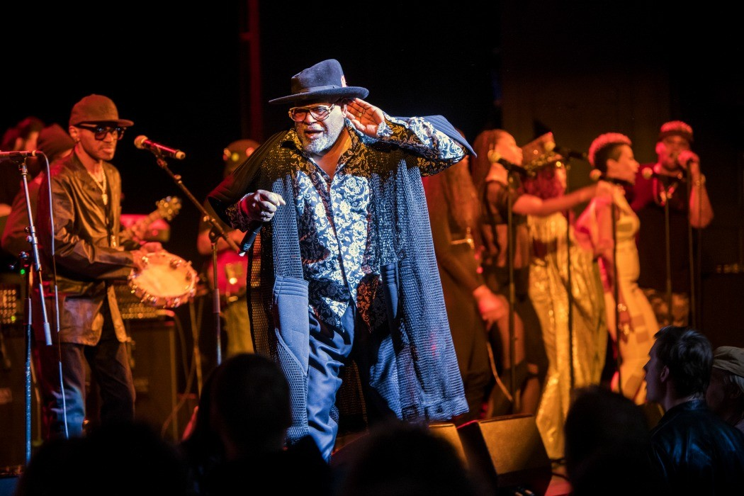 George Clinton & Parliament Funkadelic spelar på Göta Lejon. Foto Wai Kei Fung / Rockfoto