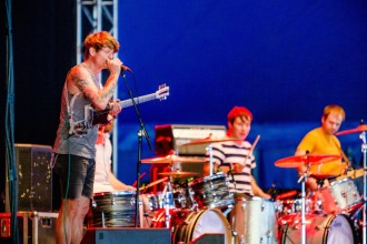 Thee Oh Sees 2017-08-11 Foto: Samuel Isaksson/Rockfoto