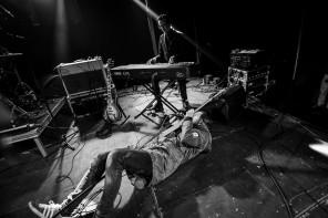 Avantgardet spelar på Trästockfestivalen. Foto: Melina Hägglund/Rockfoto Bildbyrå AB