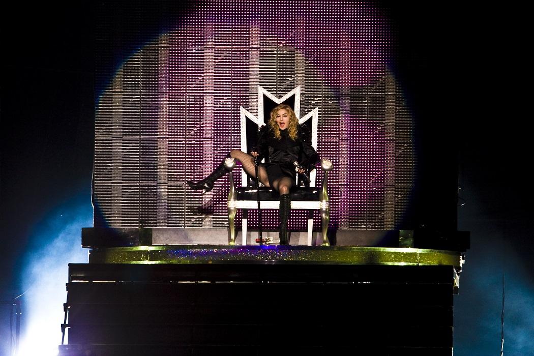 Madonna kan onanera pa scen